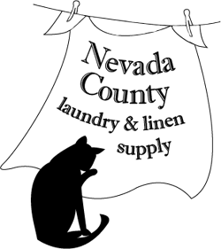 nevada county laundry & linen supply logo